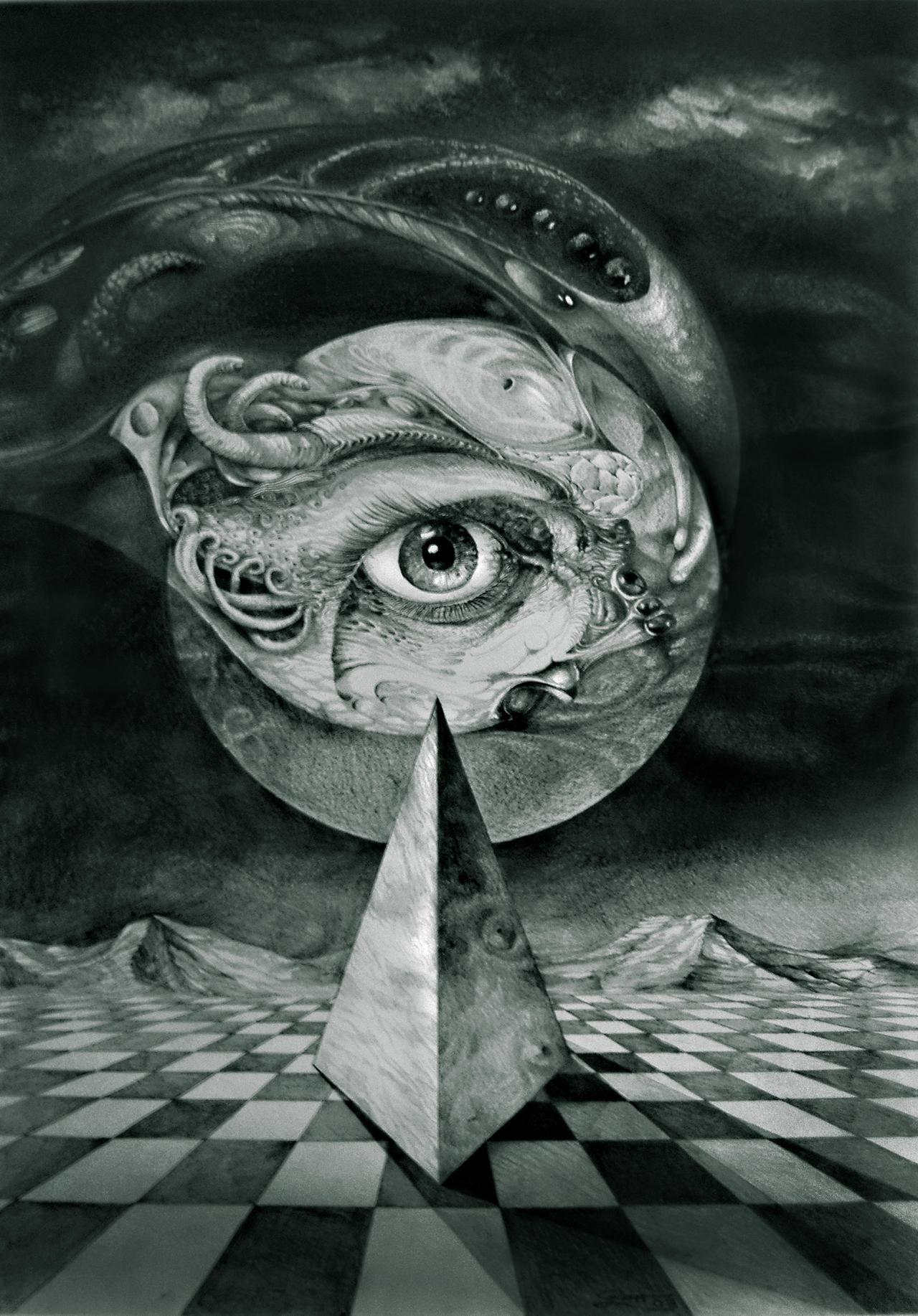 EYE OF THE DARK STAR 2 by ArtOfTheMystic