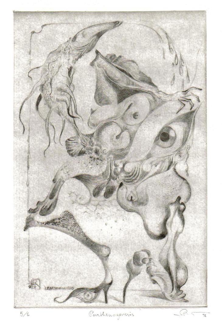 PARTHENOGENESIS by ArtOfTheMystic