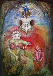 THE SURROGATE MOTHER OF WISDOM by ArtOfTheMystic