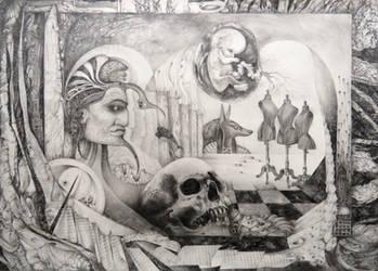 MEMENTO MORI by ArtOfTheMystic