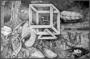 Axis Mundi - Earth Center by ArtOfTheMystic