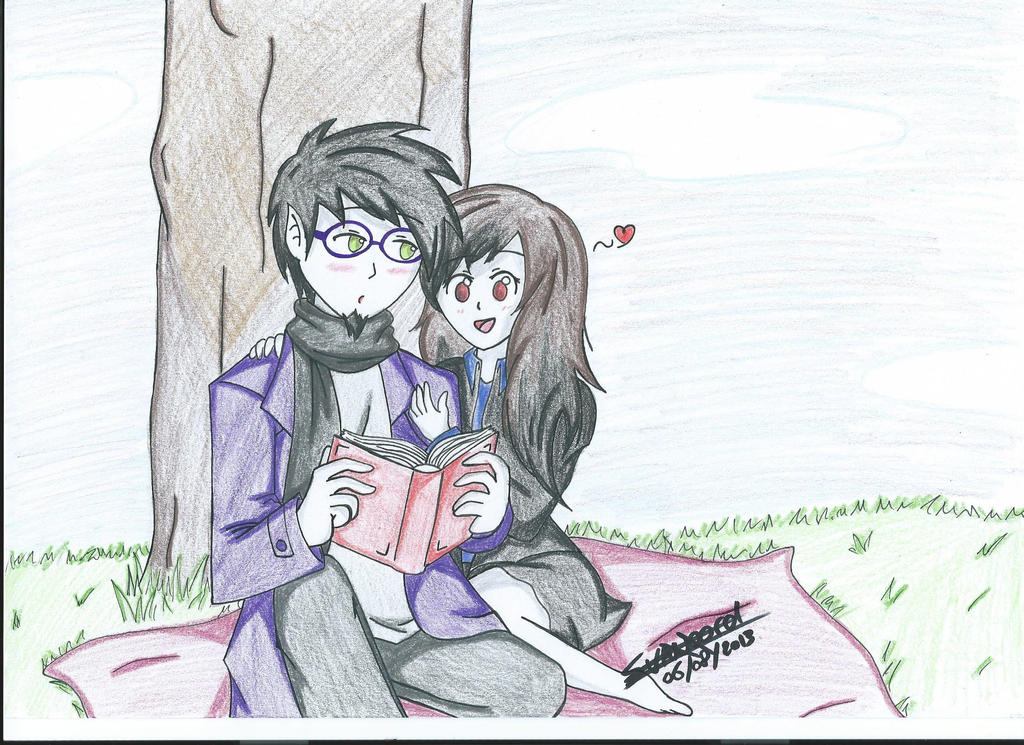 GW Reading A Story by I-Love-Ghost-Writer