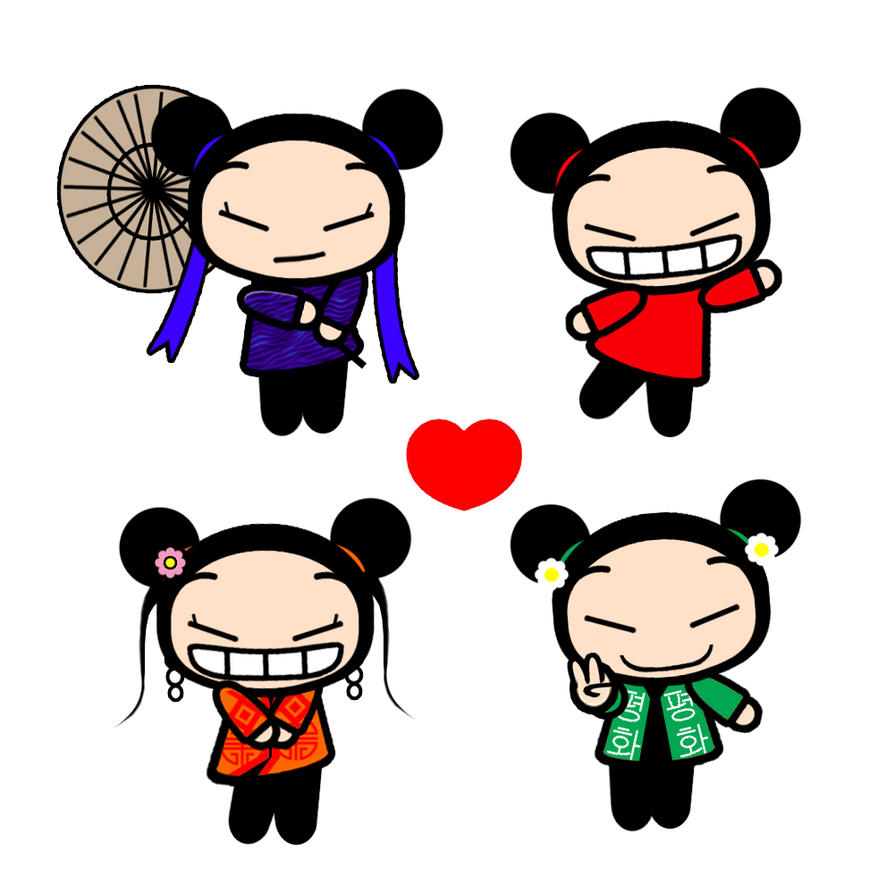 Foto Da Pucca ~ Pucca design request by Phendranaguardian on DeviantArt