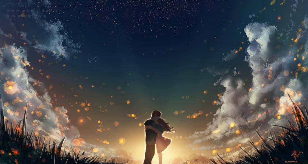 Fireflies by RaidesArt