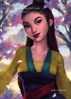 Mulan   Speedpaint by RaidesArt