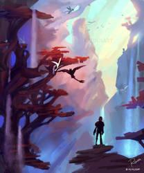 Hidden World - Practice by RaidesArt