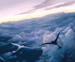 Flying by RaidesArt