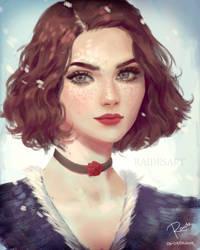 Winter Rose by RaidesArt