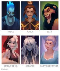 6 Villains