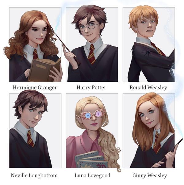 6 Fanarts | Harry Potter