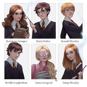 6 Fanarts   Harry Potter