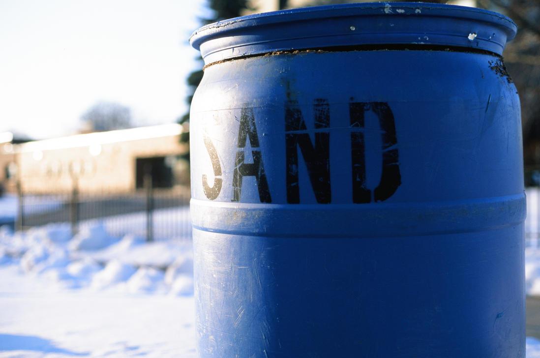 SAND barrel by Volk-oseba