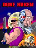 Duke Nukem - Poster by Cybopath
