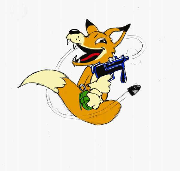Fox Hound Logo By Cybopath