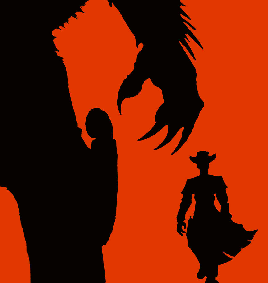 death and texas silhouette by cybopath