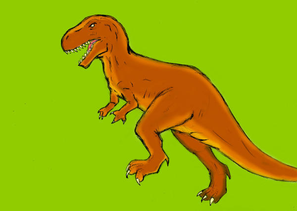 Dinosaur - Allosaurus by Cybopath