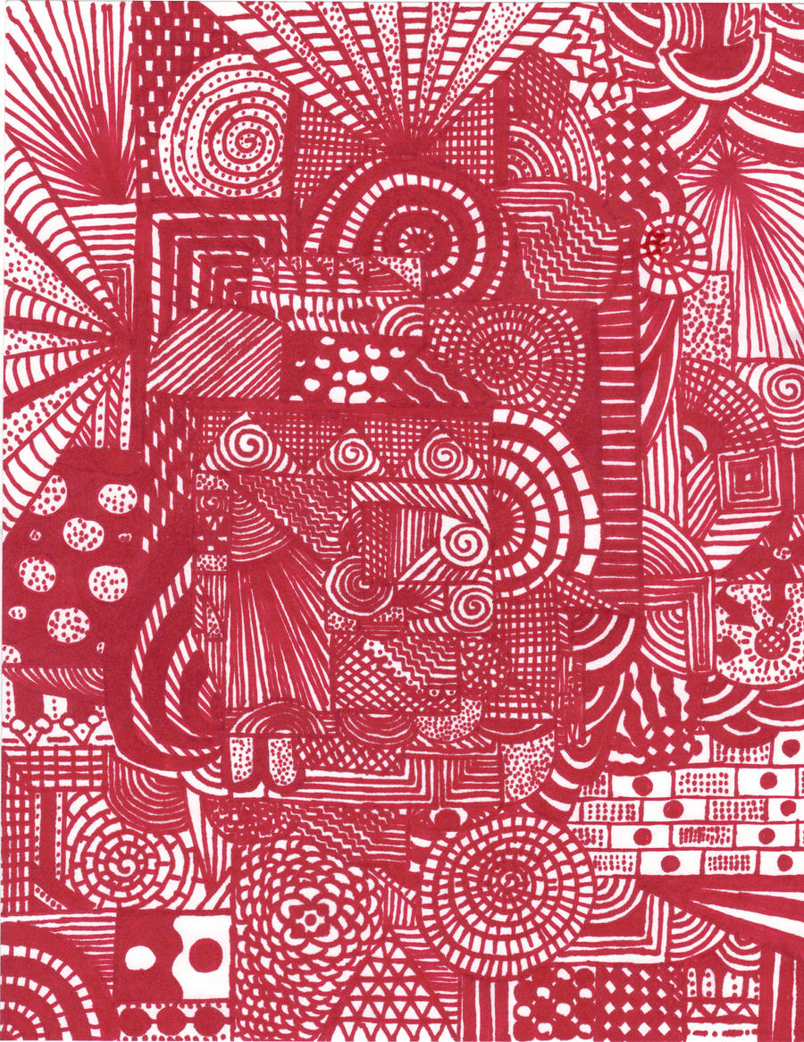 Abstract Line Art Paintings : Abstract line drawing by shaleco on deviantart