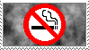 No Smoking Stamp by Garetiem