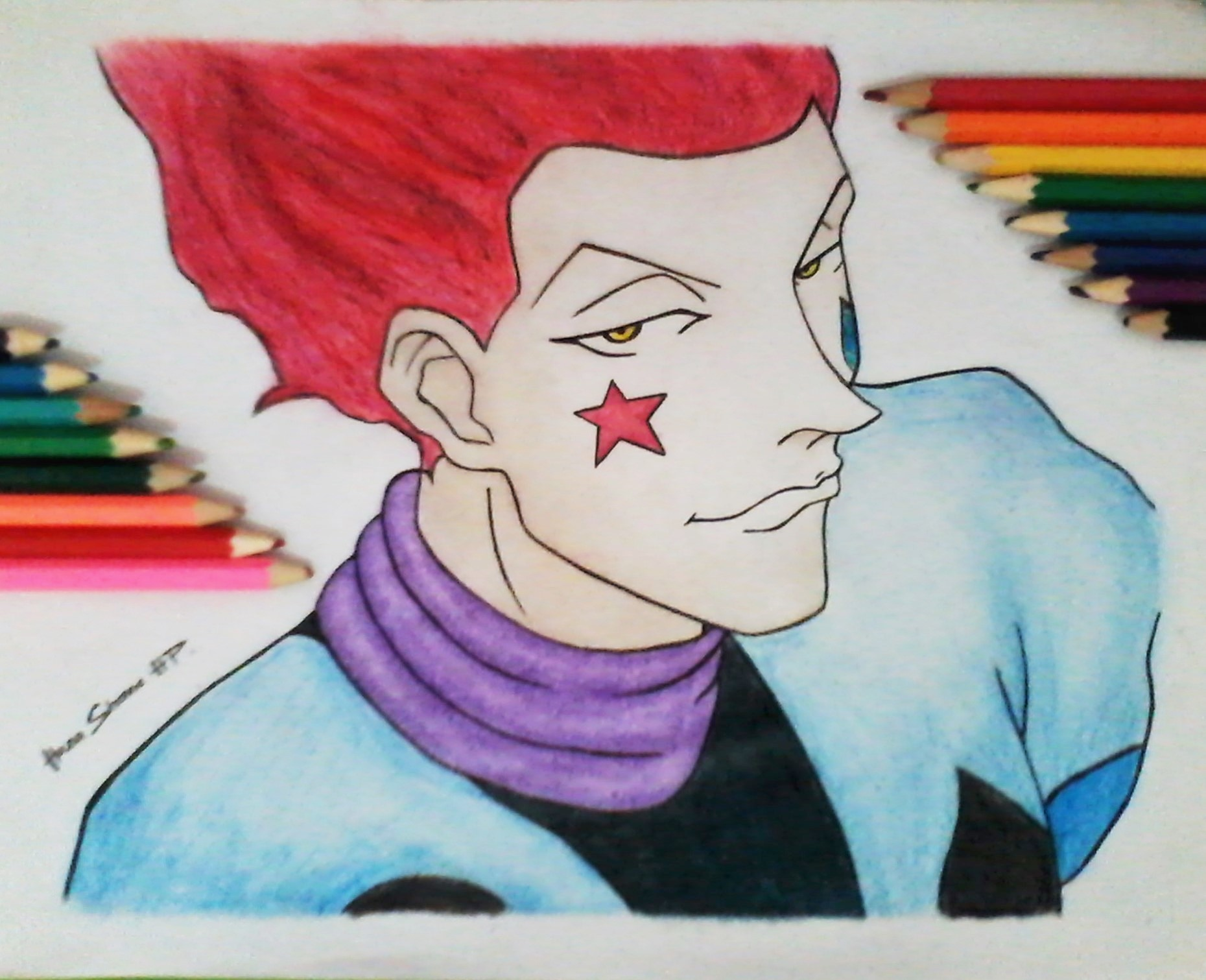 hisoka hunter x - photo #29
