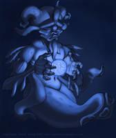 Squid Wizzard by Davy-Art