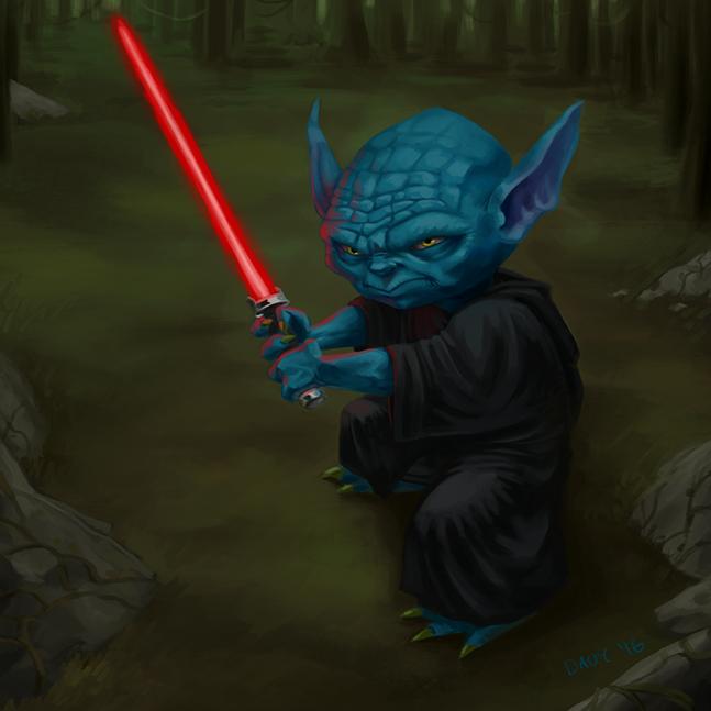 Sith Yoda by Davy-Art