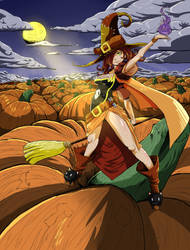 Pumpkin Patch by Nehis