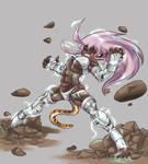 Art Trade: Silver Tiger