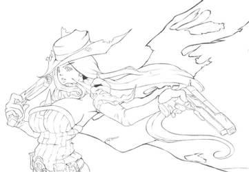 Gunslinger by Nehis