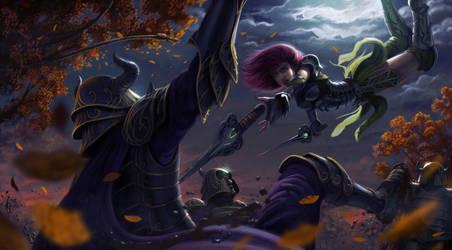 Moonlight Slayer by JesusAConde