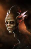 Portrait of an alien by JesusAConde