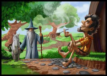 Gandalf Arrival by JesusAConde