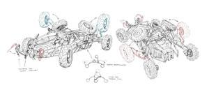 buggy concept Art