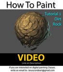 How To Paint Rock or Dirt