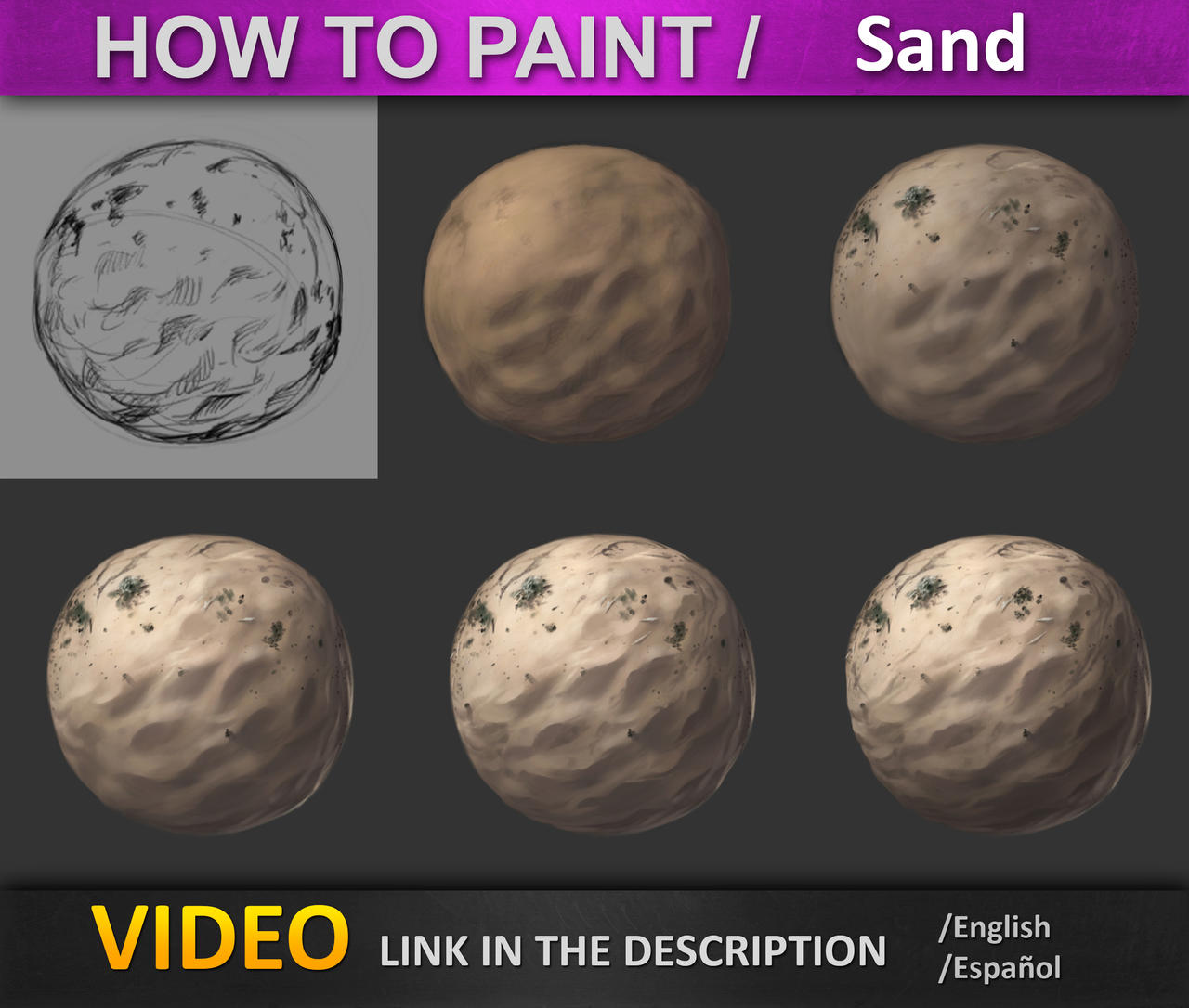 How to paint _ Sand by JesusAConde