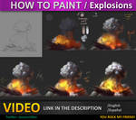 How to paint Explosions tutorial