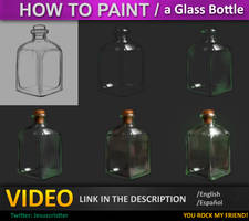 How to Paint Glass Tutorial