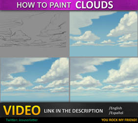 TUTORIAL CLOUDS/NUBES VIDEO by JesusAConde