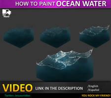 tutorial ocean water , agua de mar by JesusAConde
