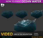 tutorial ocean water , agua de mar