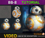 Painting BB8 from starwars force awakens