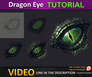 Dragon Eye Tutorial by JesusAConde