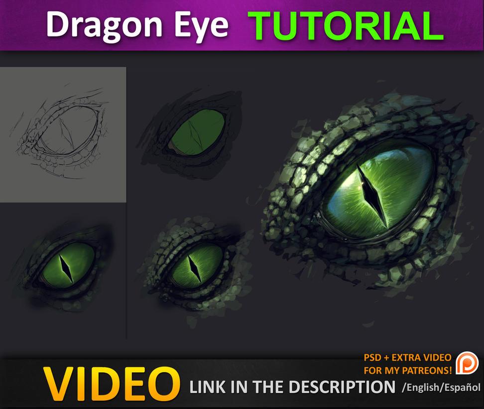 Dragon Eye Tutorial By Jesusaconde