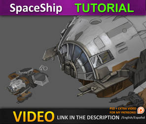 Spaceship tutorial PART 2 by JesusAConde