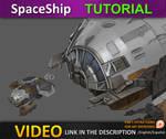 Spaceship tutorial PART 2 by JesusAConde