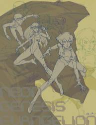 Neon Genesis Evangelion by JesusAConde