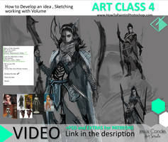 Art Class 4 Developing Ideas and sketching