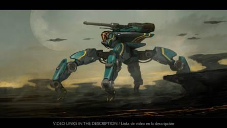 Spider Tank video