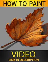 Autum leaf tutorial by JesusAConde