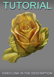 Painting a flower in photoshop by JesusAConde