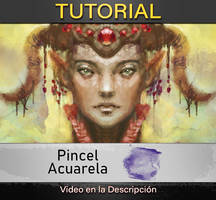 Tutorial de Pincel Acuarela
